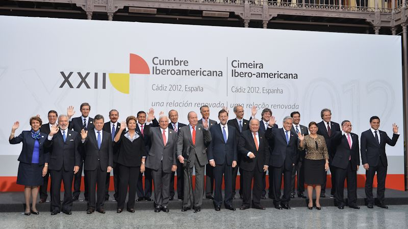 presidentes iberoamericanos