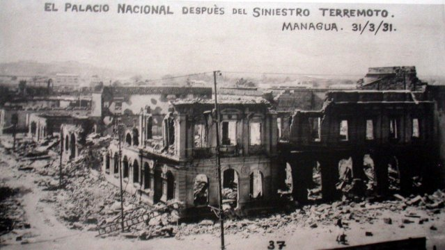Managua terremoto 1931