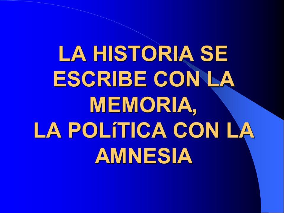 memoria y política