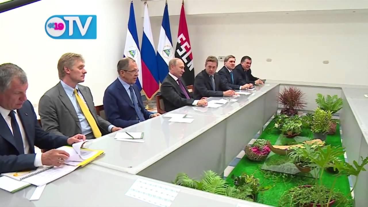 #Putin en Nicaragua